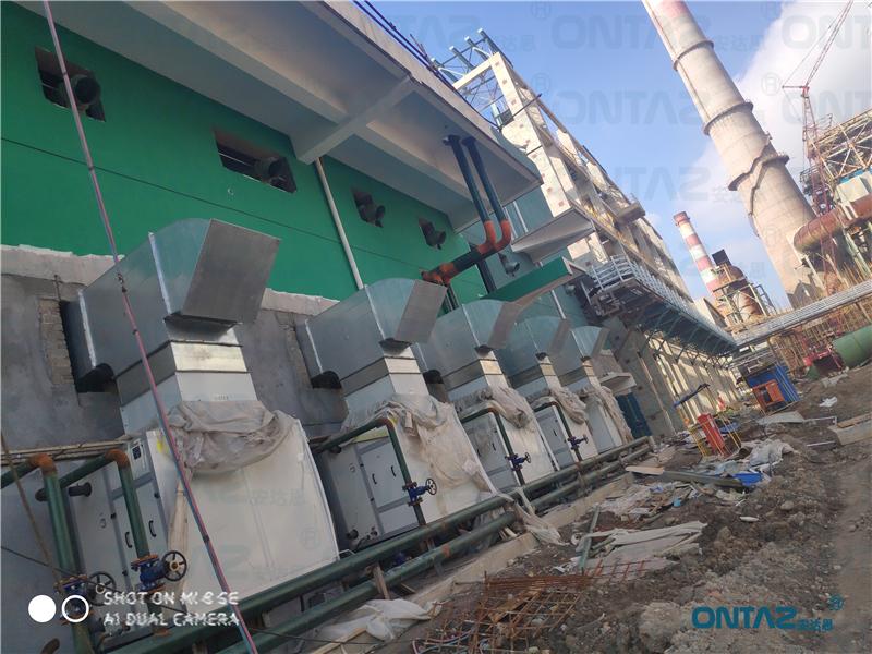 上海某钢铁集团空水冷项目案例