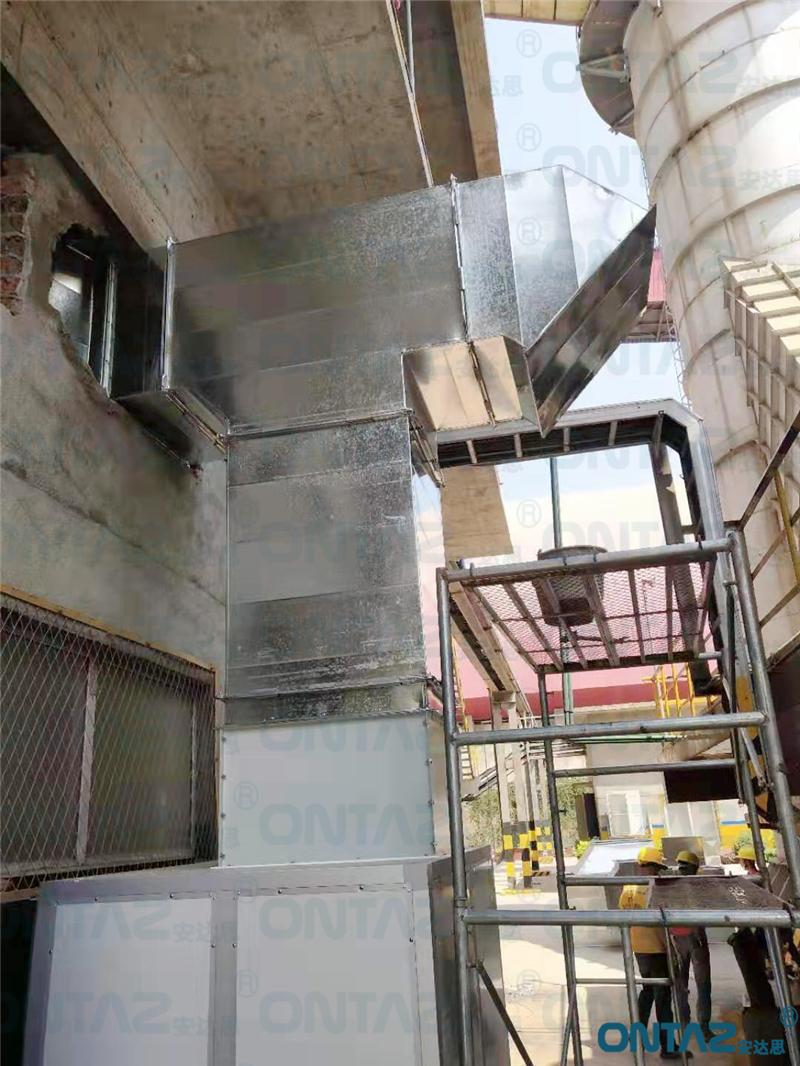 湖南双峰某水泥集团项目案例